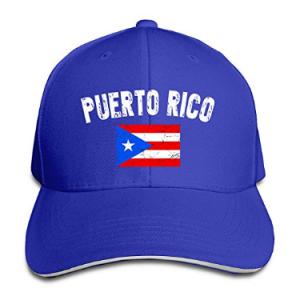 Gorras con la Bandera de Puerto Rico  736ee397075