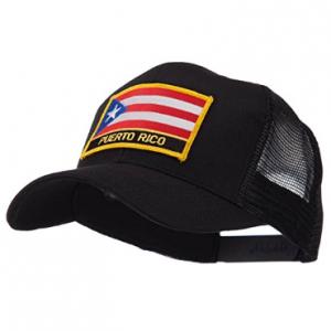 Gorra de malla con la bandera de Puerto Rico 8c8e91f860a