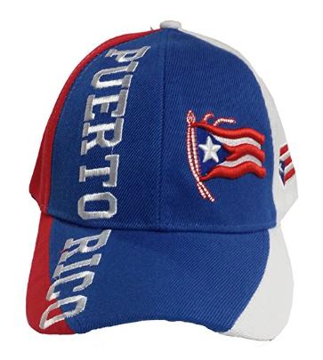 Puerto Rico Baseball Cap Puerto Rico Flag